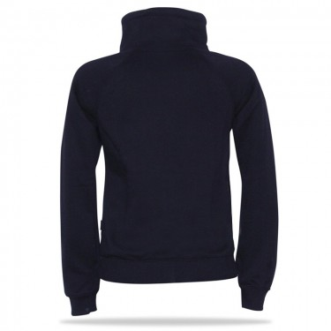 Tenesi B/R – Women's pull over hoodie with a stand-up collar