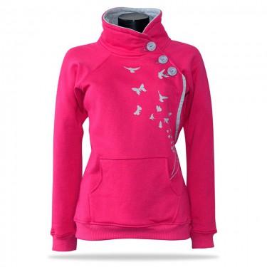 Birdie PNK - Women's pull over hoodie