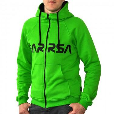 Classic Zip Green Men's hoodie