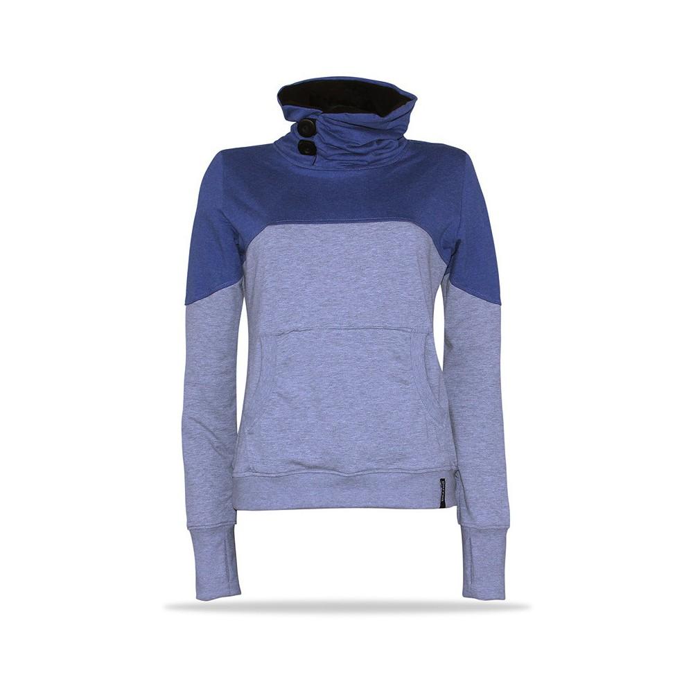 new style ee7ae 1b00e Barrsa Birdie PNK - Damen Sweatshirt mit stehenden Kragen ...