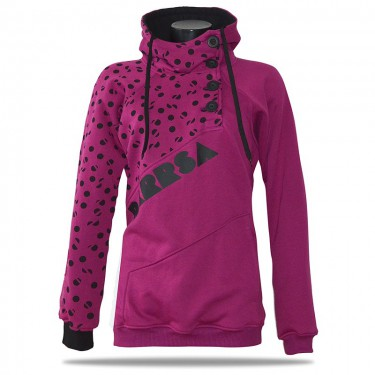 Pacman Print PUR – Women's pull over hoodie