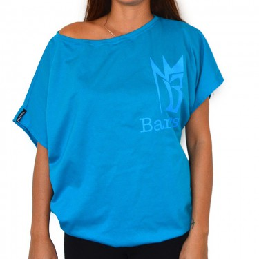 Women's t-shirt Barrsa Loosey Top BLUE