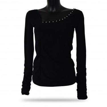 Women's tank top - Barrsa Crystal Shine Black
