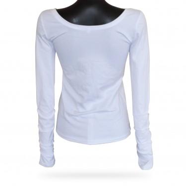Women's tank top - Barrsa Crystal Shine White