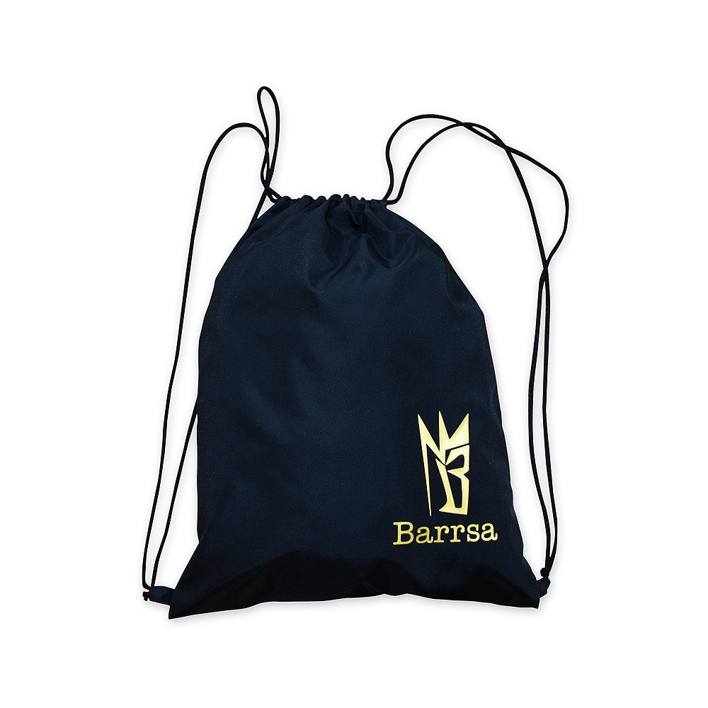 Batoh Barrsa Cinch Bag Black/Gold