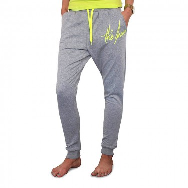 Sweatpants Barrsa Denc 2 Grey/Lime