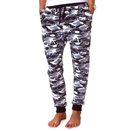 Sweatpants Barrsa Denc 2 Black/White Dots