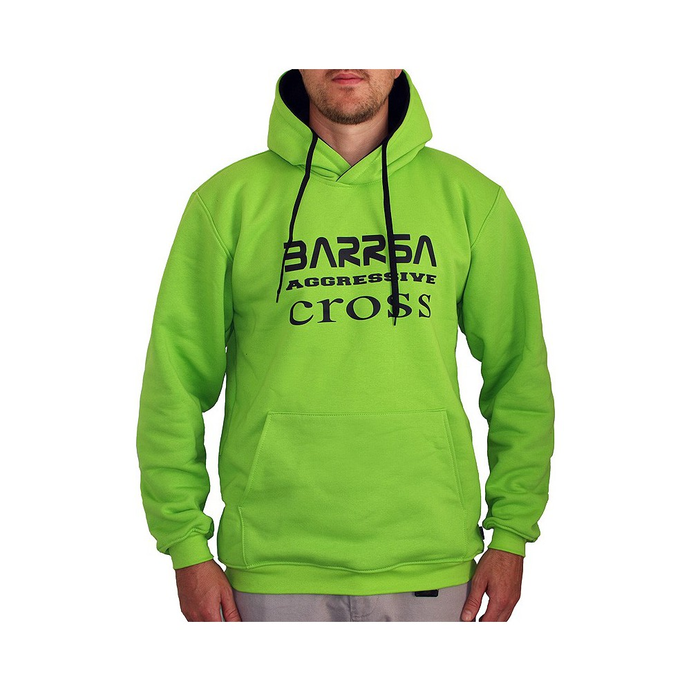 Pánská mikina Barrsa Cross Lime/Black