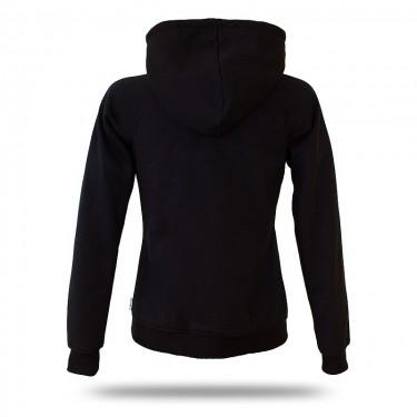 Barrsa Frozen Red/Black – Women's pull over hoodie