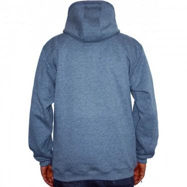 Barrsa Cross – Men's hoodie Black/Grey