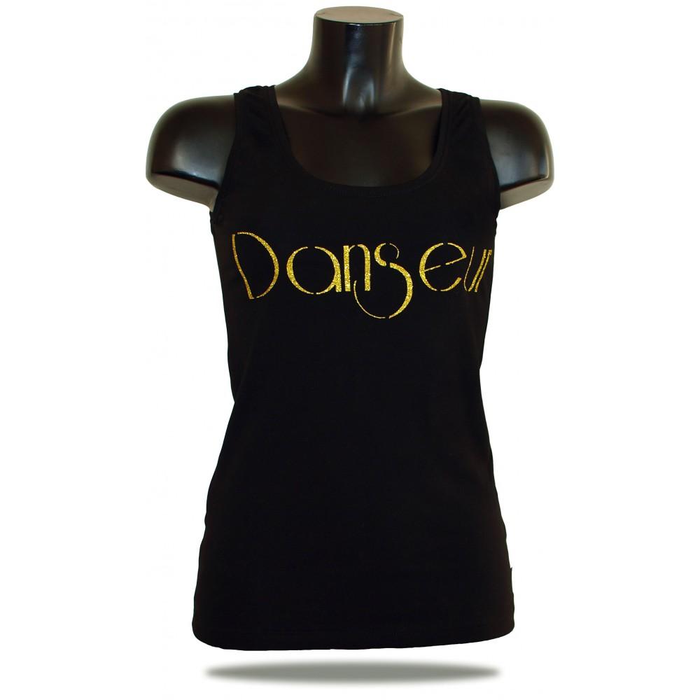 Dámské tílko Barrsa - Summer Lady denc - black/gold