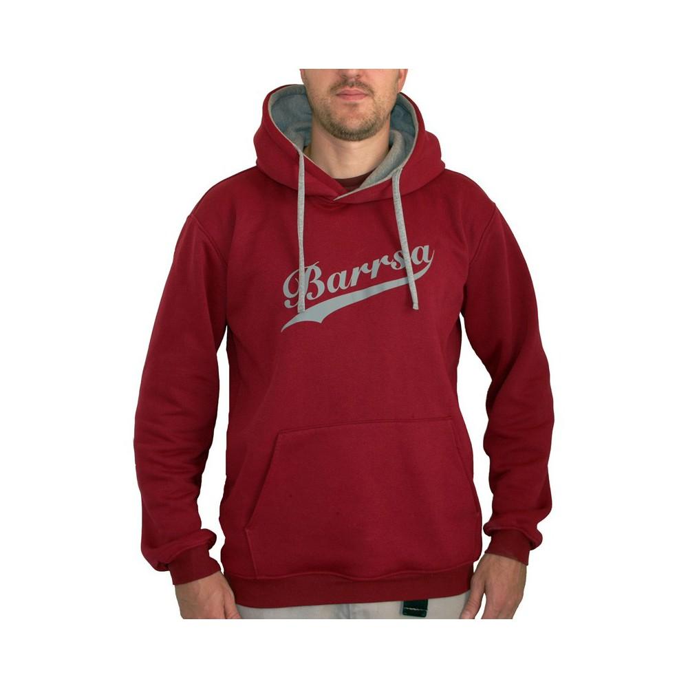Barrsa Classic League Wine Red – Men's hoodie