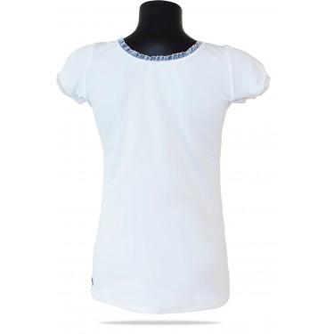 Dámske tričko Barrs Summer Lace Tee Black