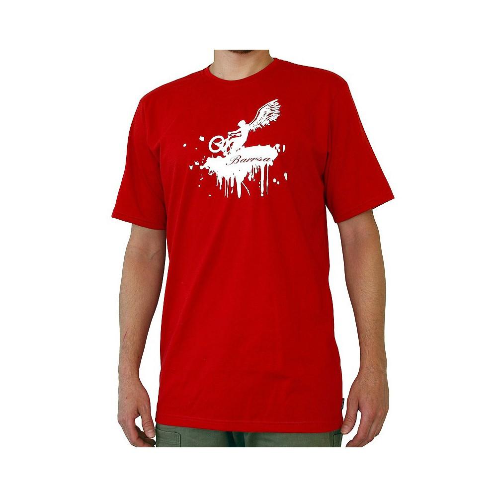 Pánské tričko Barrsa Wings red/white