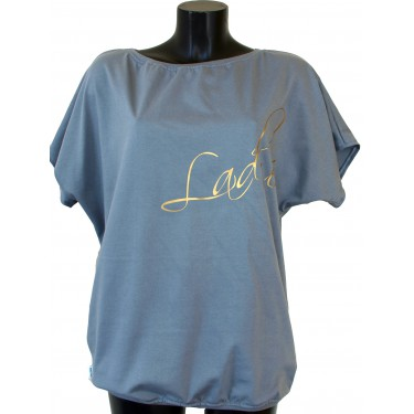Women's t-shirt Barrsa Loosey butterfly