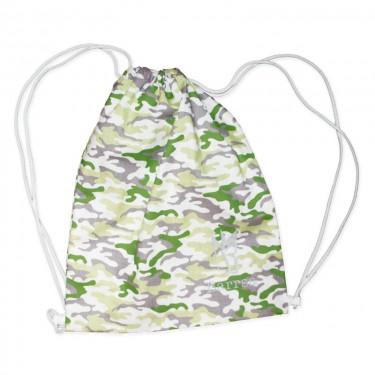 Batoh Barrsa Cinch Bag Black/White