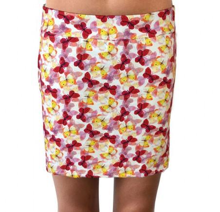 Dámská sukně Barrsa Ibiza Butterfly Print