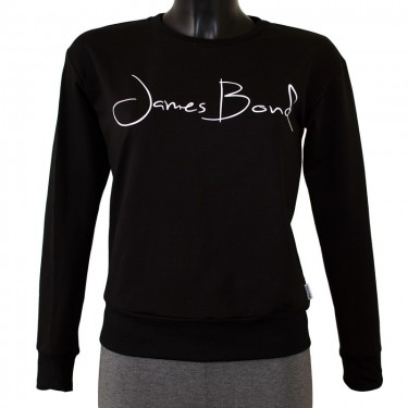 Damen Sweatshirt Barrsa Janes Bond Black/White