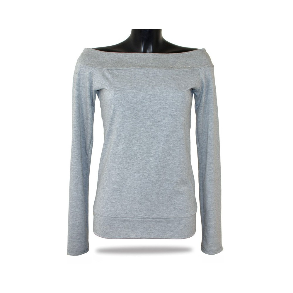 bcb78910003 Dámské tričko s dlouhým rukávem Barrsa Lady LS Grey - Barrsa Fashion