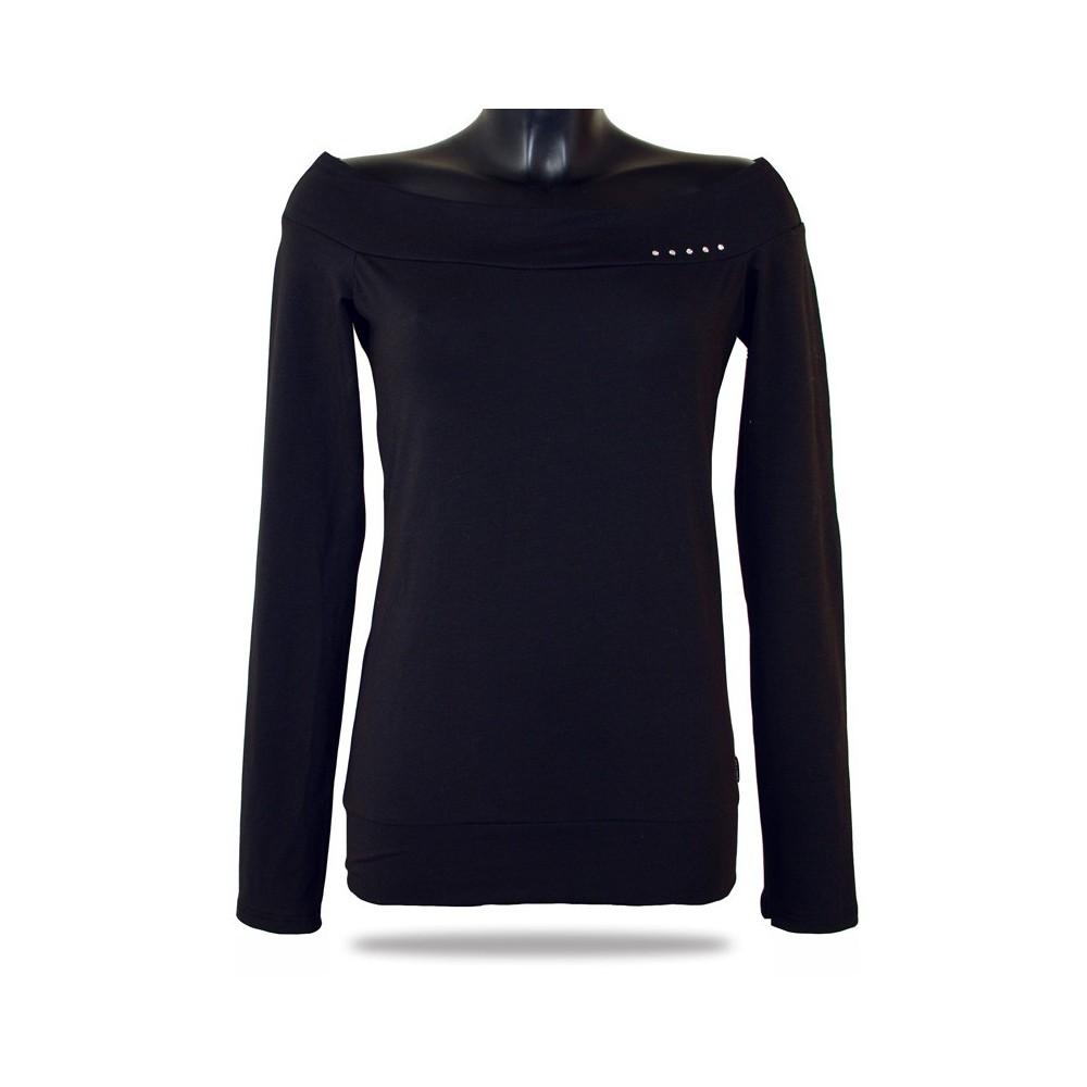 Dámske tričko s dlhým rukávom Barrsa Lady black