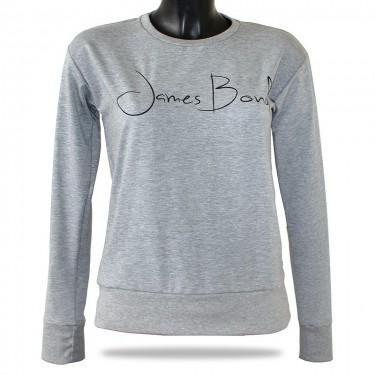 Dámská mikina přes hlavu Barrsa Janes Bond Grey/Black
