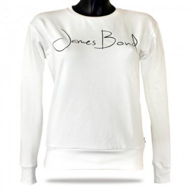 Dámska mikina cez hlavu Barrsa Janes Bond grey/black
