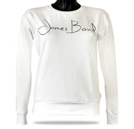 Dámská mikina přes hlavu Barrsa Janes Bond White/Black