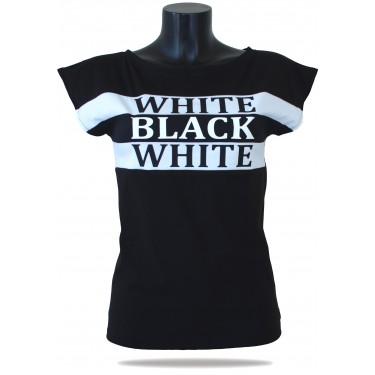 Women's t-shirt Barrsa Longy Top BL/WT
