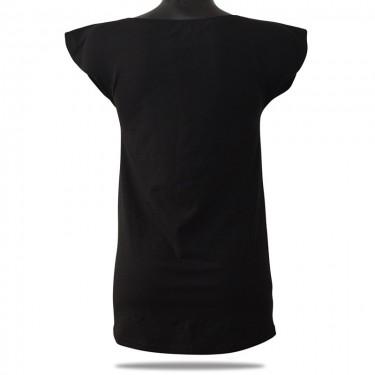 Dámske tričko Barrs Longy Top BL/WT