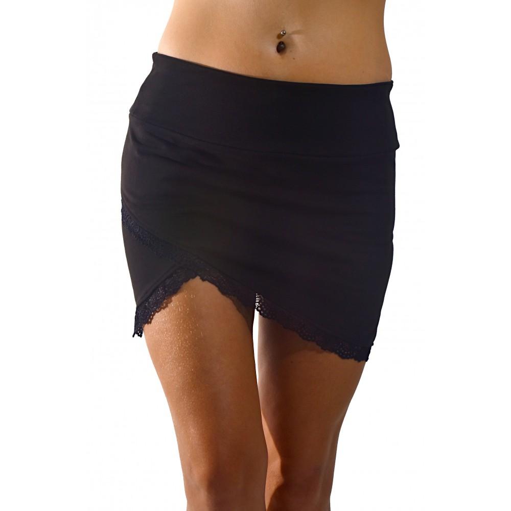 Dámska sukňa Barrsa Lace Black