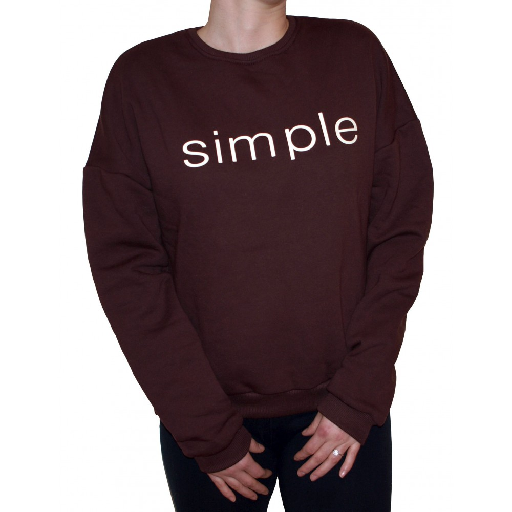 Barrsa Simple Brown – Women's pullover