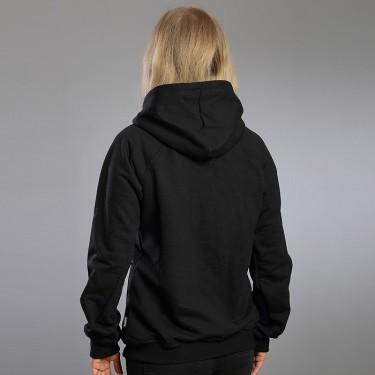 Obliqueli B/W – Women's zip through hoodie