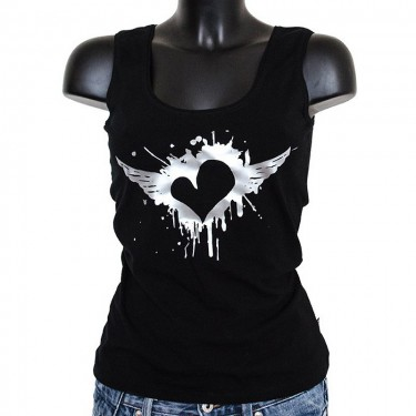 Women's tank top - Summer Lady Heart
