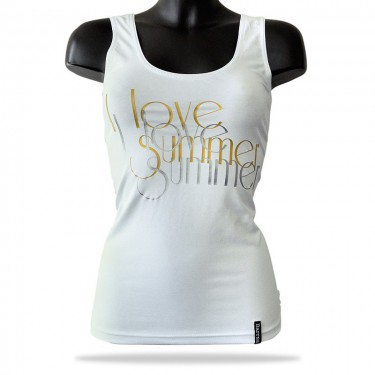 Women's tank top - Barrsa Lady Love Summer