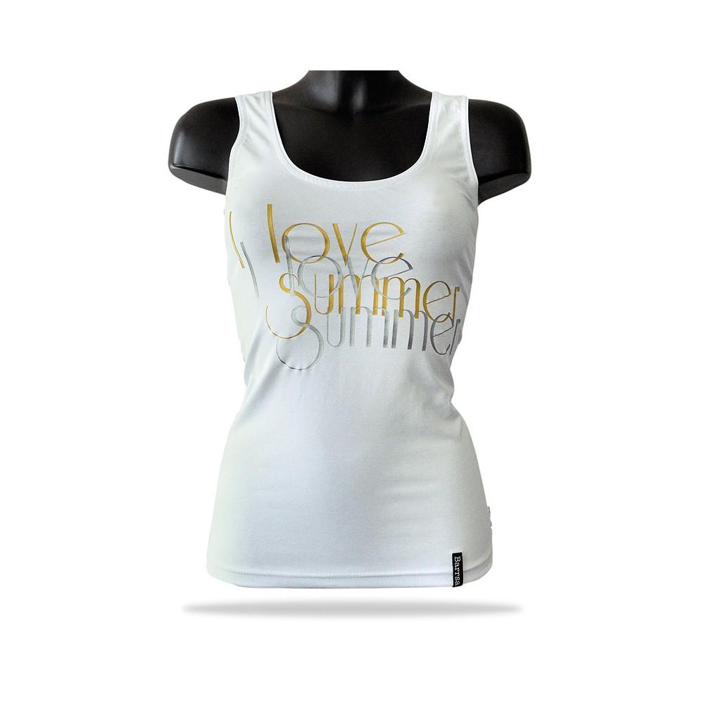 Dámské tílko Barrsa - Lady Love Summer - white